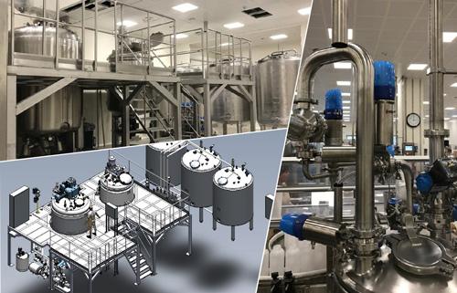 Nueva línea de producción de geles, champús y cremas