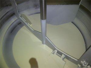 Línea de preparación y dosificación de chocolate